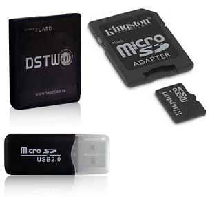 Supercard DSTwo for 3DS/DSi/DSiXL/DSL/DS + 4GB Micro SD.