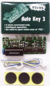 PS2 Auto Key 3 Mod Chip